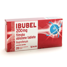 Ibubel 200 mg, 20 filmsko obloženih tablet