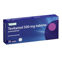 Tevitamol, 20 tablet