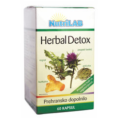 Nutrilab Herbal Detox, kapsule