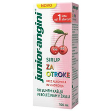 Junior-angini, sirup (100 ml)
