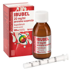 Ibubel 20 mg/ml, peroralna suspenzija
