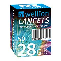 Wellion 28G, 50 lancet