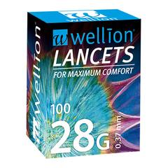 Wellion 28G, 100 lancet