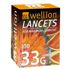 Wellion 33G, 100 lancet