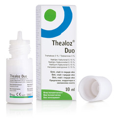 Thealoz Duo, kapljice za oko (10 ml)
