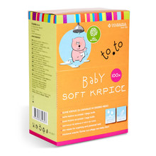 to.to Baby soft krpice, 100 krpic""