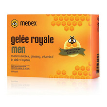 Medex Gelée Royale Men, kapsule (30 kapsul)