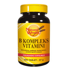 B-kompleks vitamini, tablete
