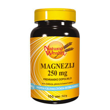 Magnesium 250 mg, tablete
