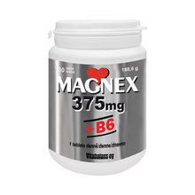 Magnex 375 mg + B6, 180 tablet