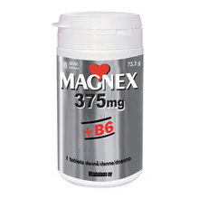 Magnex 375 mg + B6, 70 tablet