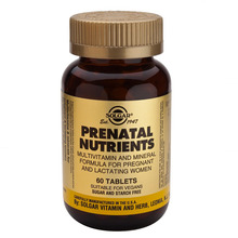 Solgar Prenatal multivitamini in minerali, 60 tablet