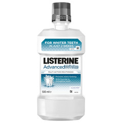 isterine Advanced White, ustna voda - 500 ml