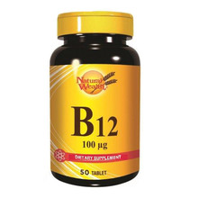 Natural Wealth Vitamin B12 100 µg