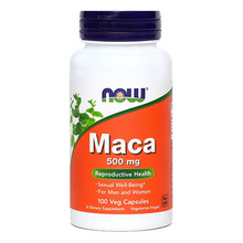 Maca 500 mg NOW, kapsule