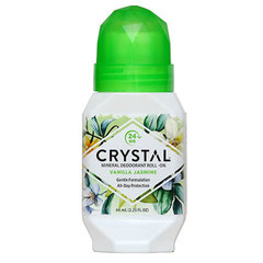 Crystal essence deo roll-on, vanilija in jasmin (66 ml)