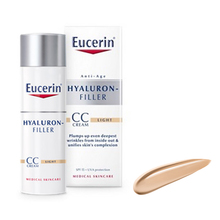Eucerin Hyaluron-Filler, CC krema - light