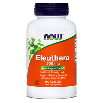 Eleuthero NOW kapsule