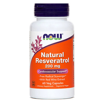 Resveratrol 200 mg NOW kapsule