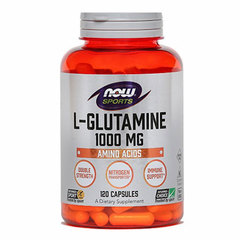 L-glutamin 1000 mg NOW Sports, kapsule