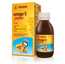 Omega-3 junior Medex, sirup (140 ml)