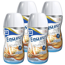 Ensure Plus Advance, čokolada - 4 x 220 ml