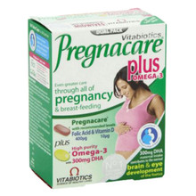 Pregnacare Plus Omega-3 tablete in kapsule