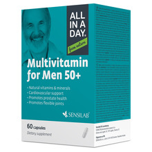 Sensilab All in a Day Multivitamin Men 50+ kapsule