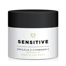 Face Care Sensitive, emulzija z vitaminom C