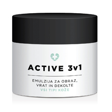 Face Care Active 3v1, emulzija