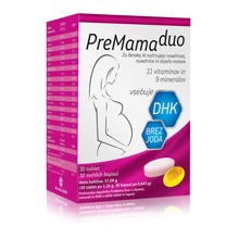 Premama Duo, tablete in kapsule