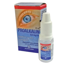 Proalkalin 0,3 mg/ml, kapljice za oko