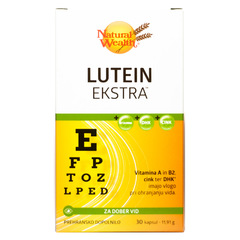 Natural Wealth Lutein Ekstra, kapsule