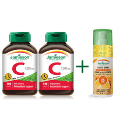 Jamieson Vitamin C 1000 mg, tablete - paket