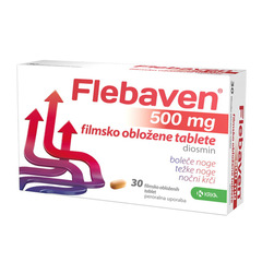 Flebaven 500 mg, 30 tablet