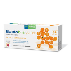ARS Pharmae Bactoblis Junior, 30 žvečljivih tablet