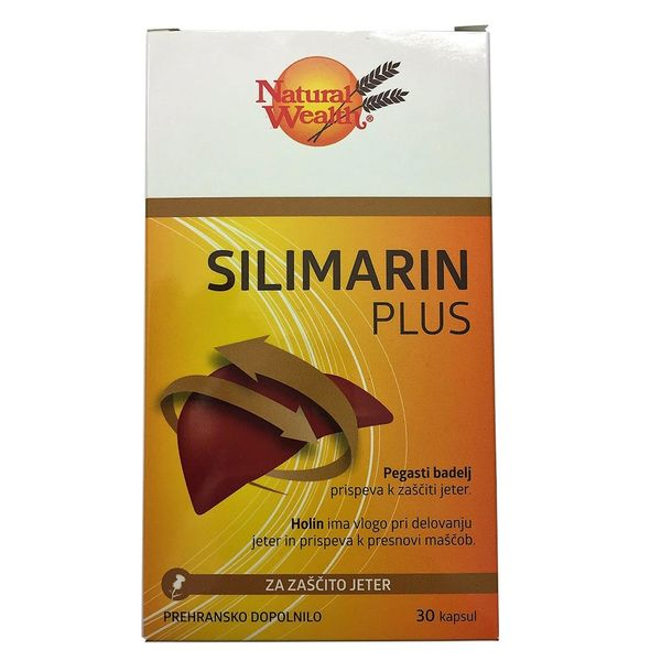 Natural Wealth Silimarin Plus, 30 kapsul
