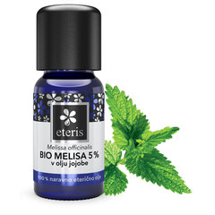 Eterično olje Melise v Bio jojobi (5%) Eteris (10 ml)