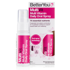 Betteryou MultiVit, ustno pršilo (25 ml)