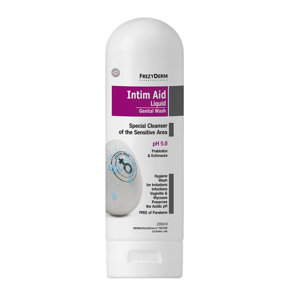 FrezyDerm Intim Aid Liquid, gel za intimno nego pH5 (200 ml)