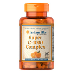 Puritan's Pride Super Vitamin C 1000 mg kompleks, 100 tablet
