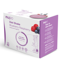 Nupo Dietni Shake Value Pack - borovnica in malina (42 x 32g)