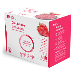 Nupo Dietni Shake Value Pack - jagoda (42 x 32g)