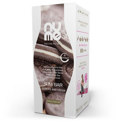 nuMe Slim Bar s kolagenom - Cookies and Cream