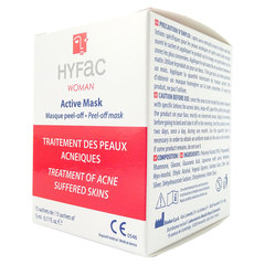 Hyfac Woman Active maska za aknasto kožo (15 peel-off mask)