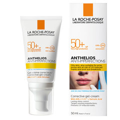LRP Anthelios Anti-Imperfections, korektivni kremni gel za obraz - ZF50+ (50 ml)