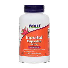 Inozitol 500 mg NOW; kapsule (100 kapsul)