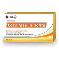 Dr. Böhm tablete za kožo, lase in nohte (60 tablet)