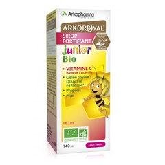 ArkoRoyal Junior, Bio sirup (140 ml)