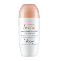 Eau Thermale Avène Body 24-urni deodorant, roll-on (50 ml)